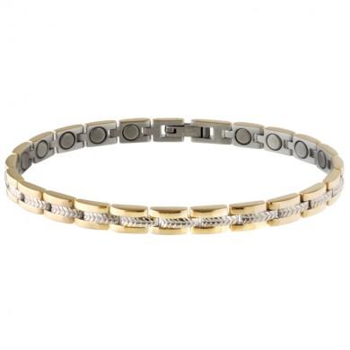Picture of Sabona Women's Executive Regal Duet Magnetic Bracelet